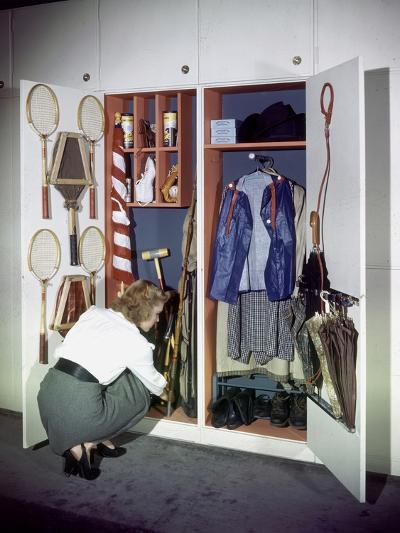 Specialized Closets Created by Architects George Nelson and Henry Wright, New York, NY 1945-Herbert Gehr-Photographic Print