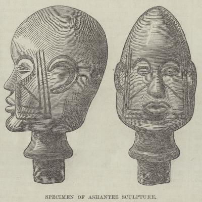 Specimen of Ashantee Sculpture--Giclee Print