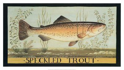Speckled Trout-Dominique Perotin-Art Print