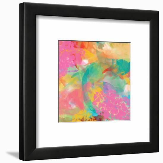 Spectacular effect V-Yashna-Framed Art Print
