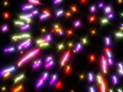 Spectacular Fireworks-Krakatuk-Photographic Print