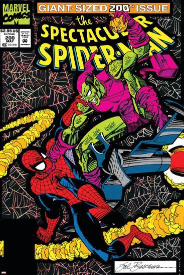 Spectacular Spider-Man No.200 Cover: Spider-Man and Green Goblin-Sal Buscema-Art Print