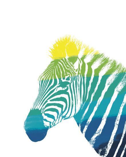 Spectral - Zebra--Giclee Print