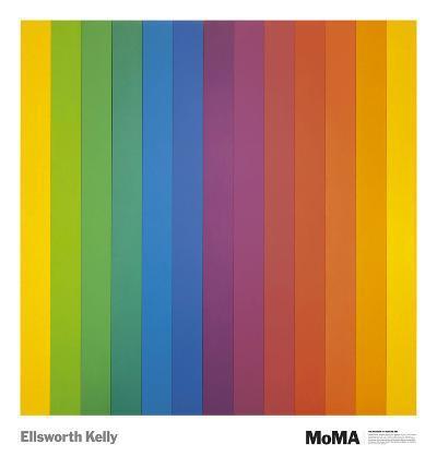 Spectrum IV-Ellsworth Kelly-Art Print