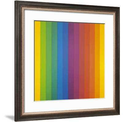 Spectrum IV-Ellsworth Kelly-Framed Art Print