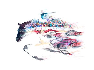 Speed-okalinichenko-Art Print