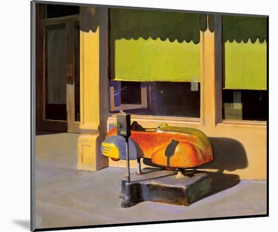 Speedster-Morgan Carver-Mounted Art Print