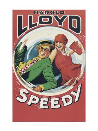 Speedy--Art Print