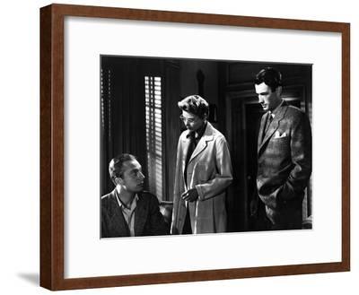 Spellbound, Norman Lloyd, Ingrid Bergman, Gregory Peck, 1945