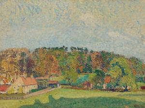 Autumn, Sussex, c.1907 by Spencer Frederick Gore