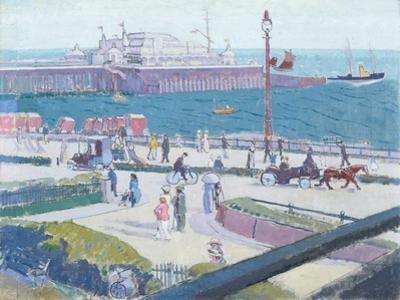 Brighton Pier, 1913 by Spencer Frederick Gore