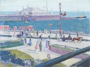 Brighton Pier, 1913 by Spencer Frederick Gore