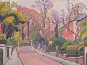 Cambrian Road, Richmond, 1913-4 by Spencer Frederick Gore