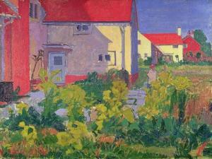 Harold Gilman's House at Letchworth by Spencer Frederick Gore