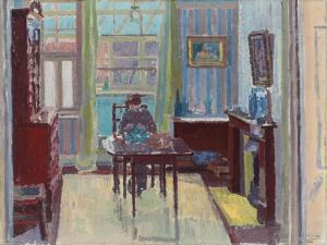 Interior of Room at 6 Cambrian Road, Richmond, 1914 by Spencer Frederick Gore