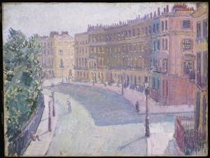 Mornington Crescent, 1910-11 by Spencer Frederick Gore