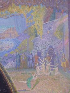 The Dance of the Spirit of Ireland, the Alhambra Music Hall by Spencer Frederick Gore