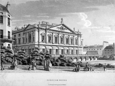 Spencer House, Westminster, London, 1800--Giclee Print
