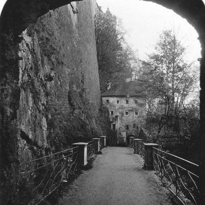 Sperrbogen, Hohensalzburg Fortress, Salzburg, Austria, C1900-Wurthle & Sons-Photographic Print