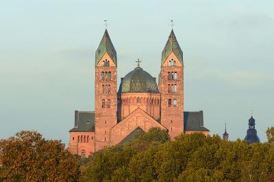 Speyer, Imperial Cathedral, Unesco-World Cultural Heritage, Sunrise, Rhineland-Palatinate, Germany-Ronald Wittek-Photographic Print