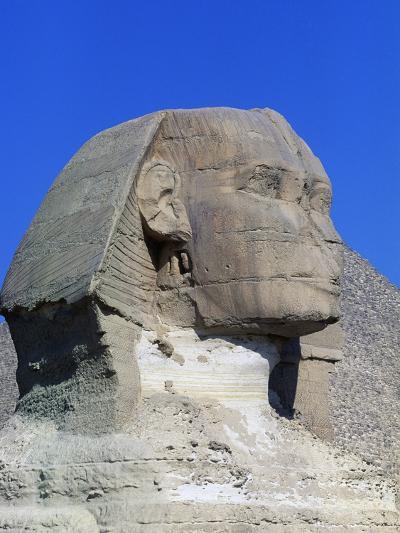 Sphinx of Giza, Giza Necropolis--Photographic Print