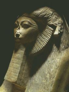 Sphinx of Hatshepsut, 1473-1458 BC, Polished Granite, 18th Dynasty