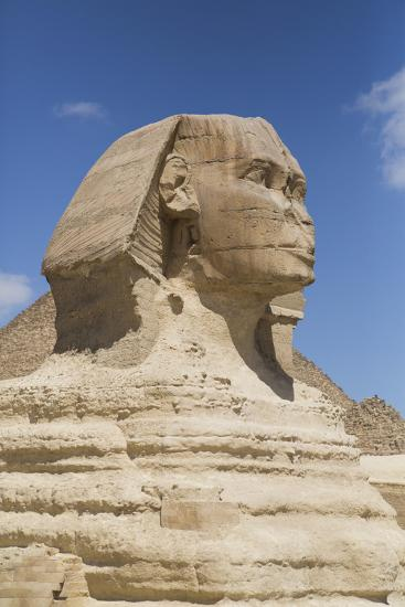 Sphinx, the Giza Pyramids, Giza, Egypt, North Africa, Africa-Richard Maschmeyer-Photographic Print