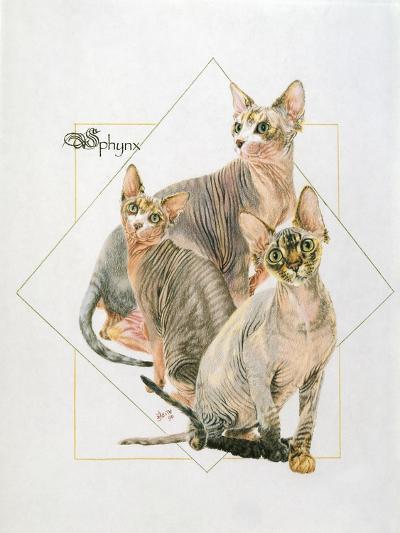Sphynx-Barbara Keith-Giclee Print