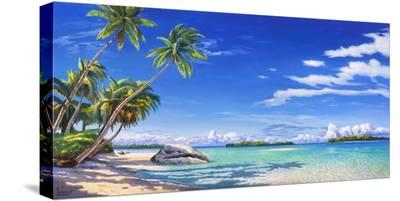 Spiaggia tropicale-Adriano Galasso-Stretched Canvas Print