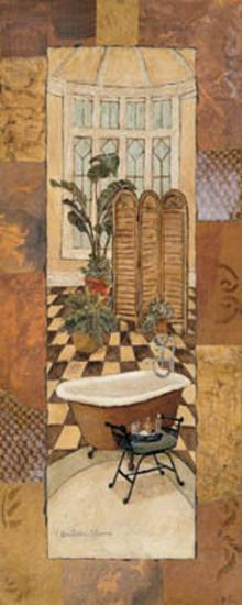 Spice Bath Panel II-Charlene Winter Olson-Art Print
