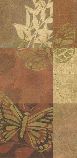 Spice Butterfly Panel I--Art Print