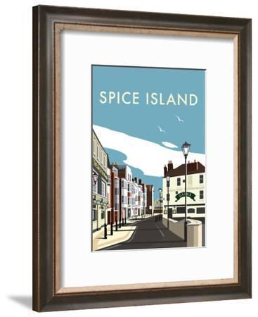 Spice Island - Dave Thompson Contemporary Travel Print-Dave Thompson-Framed Art Print
