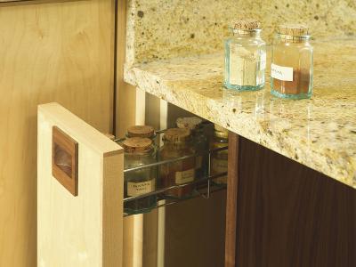 Spice Jars in Purpose Built Storage Drawer-Oliver Beamish-Photo
