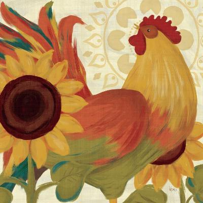 Spice Roosters II-Veronique Charron-Art Print