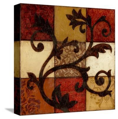 Spiced Filigree-Jennifer Goldberger-Stretched Canvas Print