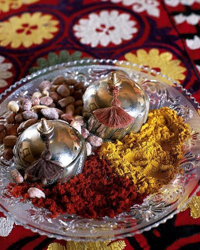 Spices Morocco-A. Baralhe-Art Print