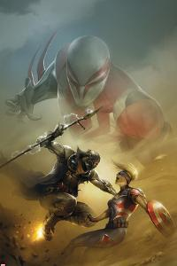 Spider-Man 2099 No.4 Cover, Featuring Spider-Man 2099, Venture (Kweeg) and More