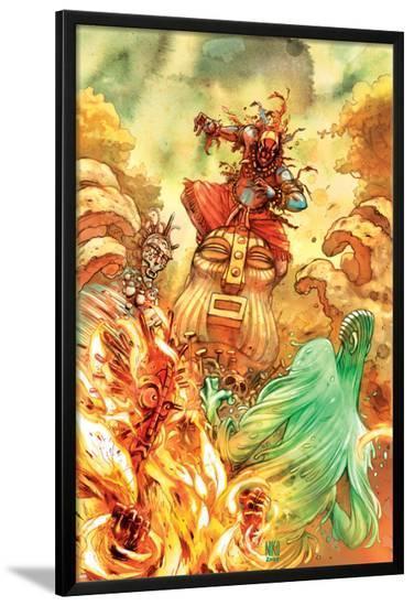 Spider-Man Fairy Tales No.2 Cover: Kwaku Anansi--Lamina Framed Poster