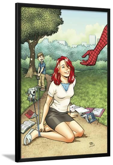 Spider-Man Loves Mary Jane Season 2 No.2 Cover-Adrian Alphona-Lamina Framed Poster