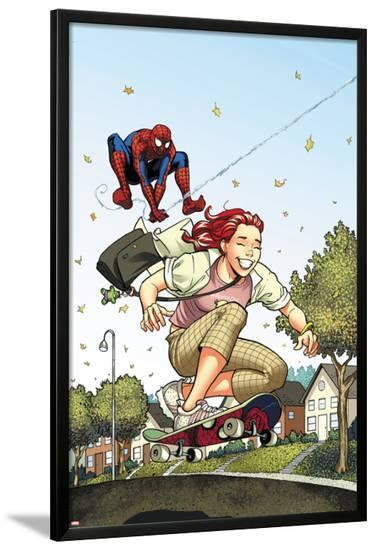 Spider-Man Loves Mary Jane Season 2 No.3 Cover-Terry Moore-Lamina Framed Poster