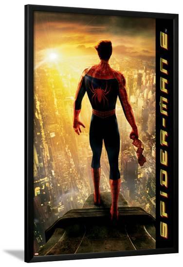 Spider-Man Movie 3: Spider-Man--Lamina Framed Poster