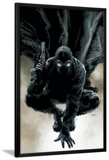 Spider-Man Noir No.1 Cover: Spider-Man-Patrick Zircher-Lamina Framed Poster