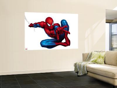 Spider-Man Shooting--Wall Mural