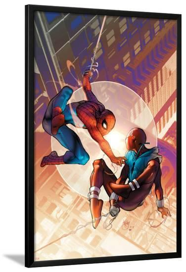 Spider-Man: The Clone Saga No.1 Cover: Spider-Man and Scarlet Spider-Pasqual Ferry-Lamina Framed Poster