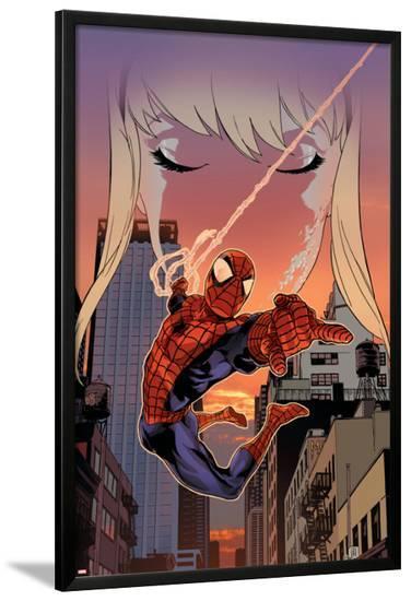 Spider-Man: The Clone Saga No.3 Cover: Spider-Man-Kalman Andrasofszky-Lamina Framed Poster