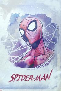 Spider-Man Watercolor