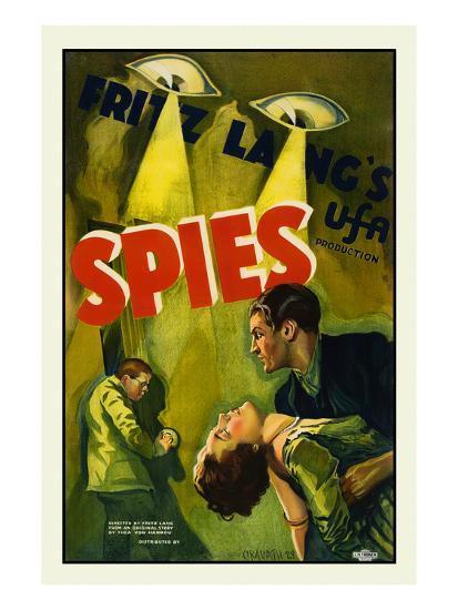 Spies-Fritz Lang-Art Print