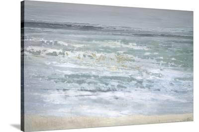 Spindrift-Caroline Gold-Stretched Canvas Print
