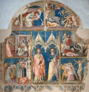 St. Philip and St. James and Scenes from Their Life by Spinello Aretino