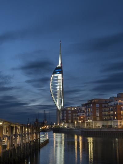 Spinnaker Tower, Portsmouth, Hampshire, England, United Kingdom-Charles Bowman-Photographic Print